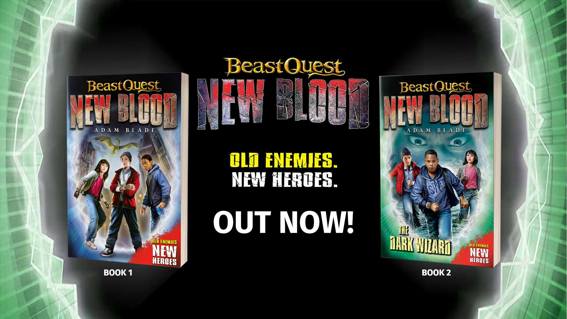 Beast Quest - New Blood, books 1 and 2